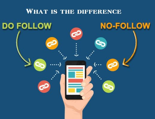 What is the difference between do follow link no follow links